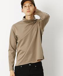 COMME CA COMMUNE(コムサコミューン)のポンチ タートルネック(Tシャツ/カットソー)