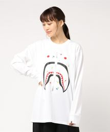 FLOWER SHARK OVERSIZED L/S TEE L(Tシャツ/カットソー)