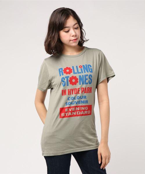 激安先着 THE STONES/IN ROLLING STONES ROLLING/IN HYDE HYDE PARK ビッグTシャツ(Tシャツ/カットソー)|HYSTERIC GLAMOUR(ヒステリックグラマー)のファッション通販, 愛知川町:d7f514b1 --- blog.buypower.ng