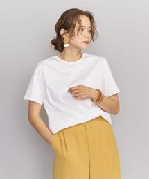 BY 50/2 コットンクルーネックTシャツ ◆