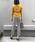 PICCIN(ピッチン)の「VILOFT変形ワイドリブVネックニット(ニット/セーター)」|詳細画像