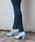 LibertyDoll(リバティードール)の「ポインテッドトゥ8cmピンヒール走れる美脚パンプス(パンプス)」|サックスブルー
