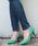 LibertyDoll(リバティードール)の「ポインテッドトゥ8cmピンヒール走れる美脚パンプス(パンプス)」|ライトグリーン