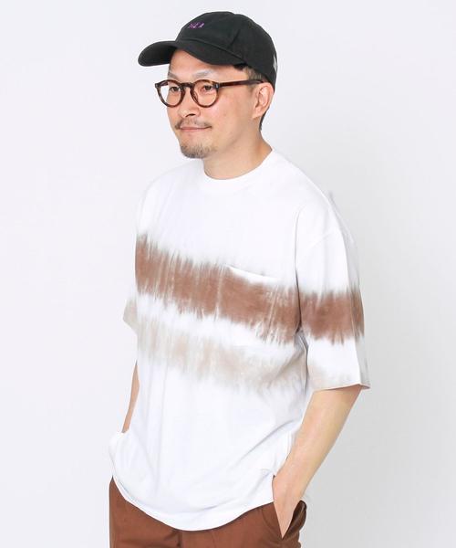 チェストタイダイポケットTシャツ