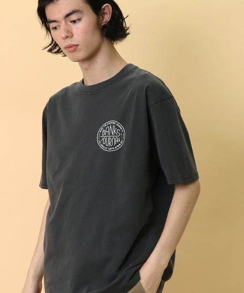 【 BANKS JOURNAL / バンクスジャーナル 】CHANGE TEE SHIRT Tシャツ ATS0494