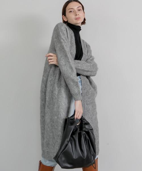 【chuclla】wool mohair gown cardigan sb-3 chw1347