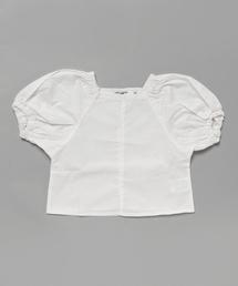 bc7bd4b5a7072 MARKEY S(マーキーズ)の「布帛チュニック (80~150cm)(チュニック)