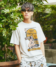 FLAMING YOUTH プリント Tシャツ