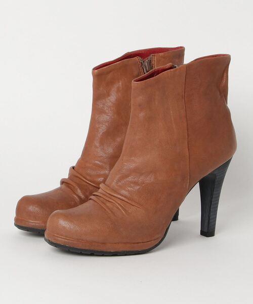 品質は非常に良い 【セール マナ】MANA Shiota マナ ラウンドトゥシャーリングピンヒールミドルブーツ(ブーツ)|MANA(マナ)のファッション通販, ムラサキスポーツ:40776550 --- pyme.pe