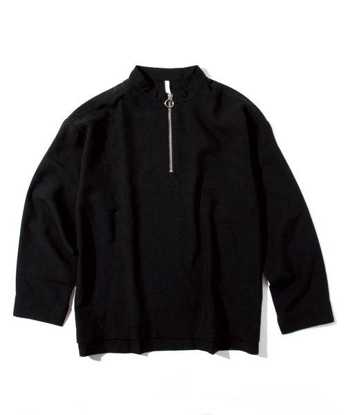 「INASTUDIOS SELECT」ハーフジップシャツ