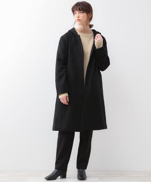 【在庫僅少】 ウールへリンボンフードコート(その他アウター)|MELROSE claire(メルローズ MELROSE クレール)のファッション通販, きもの山喜:f33dda1b --- talkonomy.com