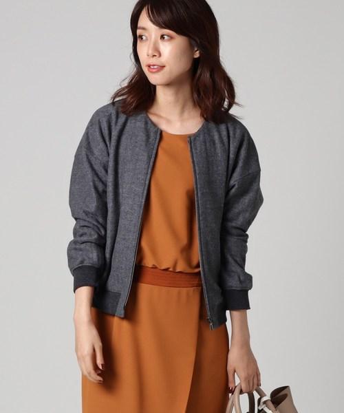人気商品は ノーカラーヘリンボンブルゾン(ブルゾン)|UNTITLED(アンタイトル)のファッション通販, ショウカワムラ:c1ebcffc --- ulasuga-guggen.de