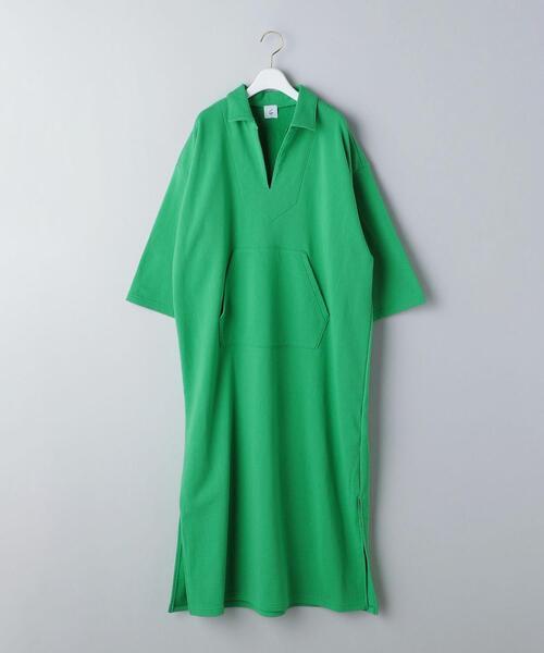 <6(ROKU)>MEXICAN PARKA DRESS/ワンピース