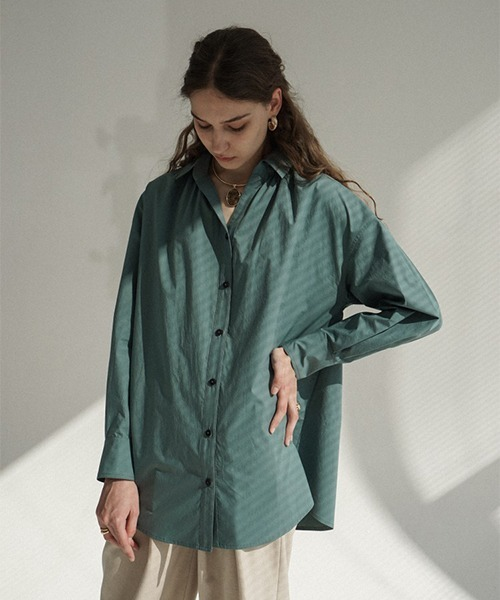 【LeonoraYang】Skipper loose shirt chw1520