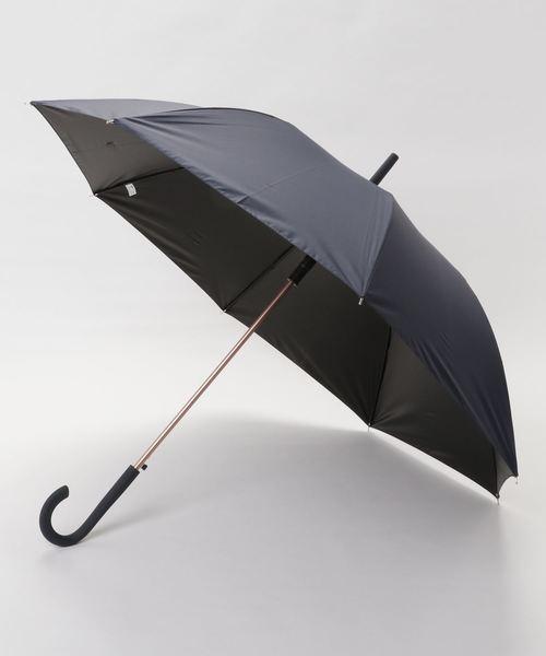 【a.s.s.a/エイ・エス・エス・エイ】 衝撃を受け流すくるくる回る傘/雨晴兼用長傘 / ベーシック