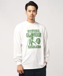 RELAXATIONリブ付Tシャツ