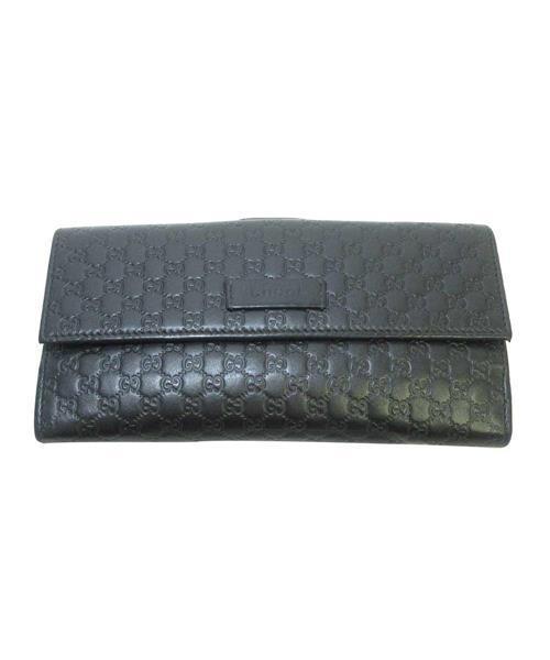 brand new 81c69 e220e GGスプリーム レザーロングウォレット 長財布