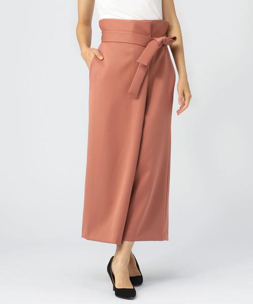 国産品 ハイウエスト巻き風パンツ(パンツ)|Liesse(リエス)のファッション通販, サムカワマチ:7959352e --- steuergraefe.de
