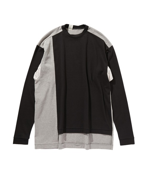 SPRING2020 ASYMMETRIC LONG SLEEVE SHIRT