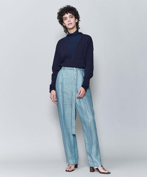 <6(ROKU)>NAKAJIRO DYED PANTS/パンツ