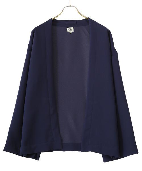 GOLD / ゴールド:STRETCH DOUBLE CLOTH CARDIGAN:21A-GL14809[MUS]