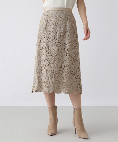 全国総量無料で フラワーコードレーススカート(スカート)|H/standard(アッシュ・スタンダード)のファッション通販, 千代田町:710e66d9 --- svarogday.com