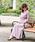 SweetMommy(授乳服&マタニティ)(スウィートマミー)の「カシュクールニットプリーツワンピ(マタニティウェア)」 詳細画像