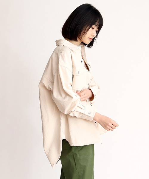 【Allumer/アリュメール】Big Shirt Jacket 8170308