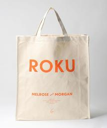 <MELROSE AND MORGAN × 6(ROKU)>ROKU CANVAS TOTE BAG/バッグ Ψ