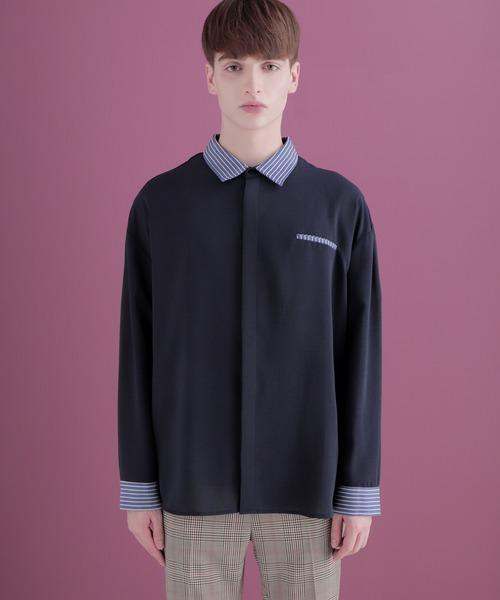 クレリックシャツLong sleeve EMMA CLOTHES 2020-2021WINTER