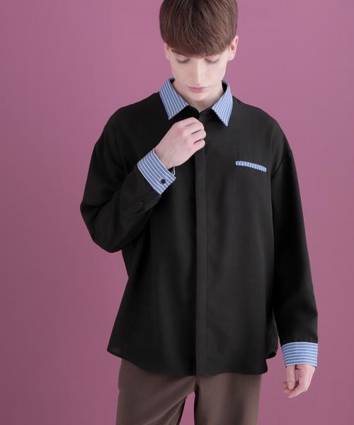 クレリックシャツLong sleeve EMMA CLOTHES 2020AW