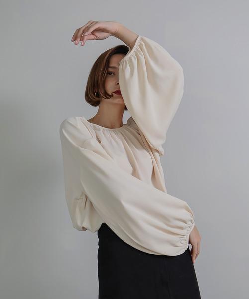 【chuclla】【2020/AW】Balloon sleeve blouse chw1350
