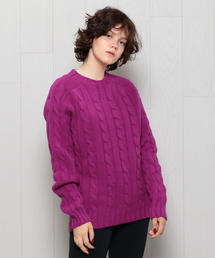 <INVERALLAN>CABLE CREW NECK KNIT/ニット