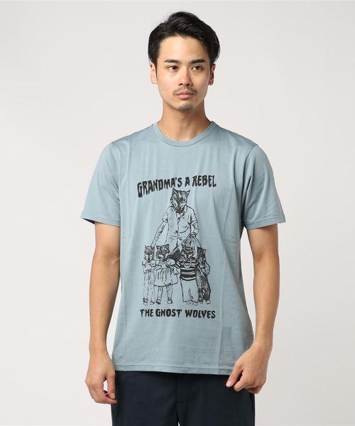 【即発送可能】 THE GHOST Hysteric WOLVES/GRANDMA'S REBEL Tシャツ(Tシャツ GHOST Thee/カットソー)|HYSTERIC GLAMOUR(ヒステリックグラマー)のファッション通販, Brand Liberty:6a8a4e56 --- cartblinds.com