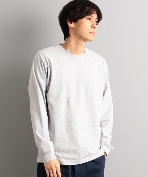 別注【WEB限定】[ヘインズ] Hanes ★★ BEEFY ロングスリーブTシャツ /カットソー