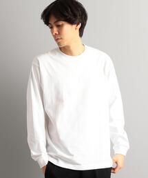 別注【WEB限定】[ヘインズ] Hanes ★★ BEEFY ロングスリーブTシャツ /カットソー †