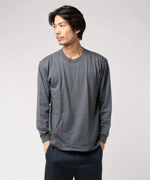 別注[ヘインズ] Hanes ★★ BEEFY ロングスリーブTシャツ /カットソー