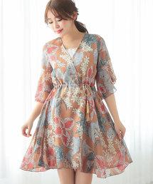 df953fa3bea50 ワンピース(ブラウン 茶色系・ショート・ミニ丈)ファッション通販 ...