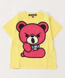 HELLO BEAR pt Tシャツ【XS/S/M】イエロー