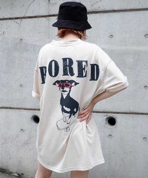 SK8 dog Tシャツ