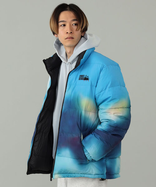 FIRST DOWN(ファーストダウン)の「FIRST DOWN / FIRST DOWN × TOYA HORIUCHI MOUNTAIN PRINT REVERSIBLE DOWN JACKET(ブルゾン)」 その他