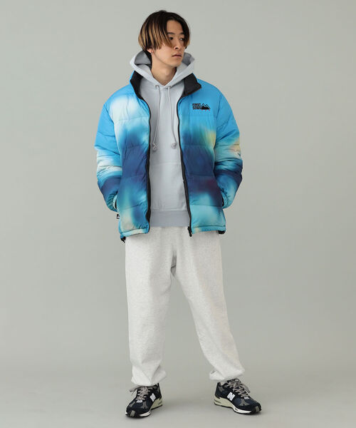 FIRST DOWN(ファーストダウン)の「FIRST DOWN / FIRST DOWN × TOYA HORIUCHI MOUNTAIN PRINT REVERSIBLE DOWN JACKET(ブルゾン)」 詳細画像