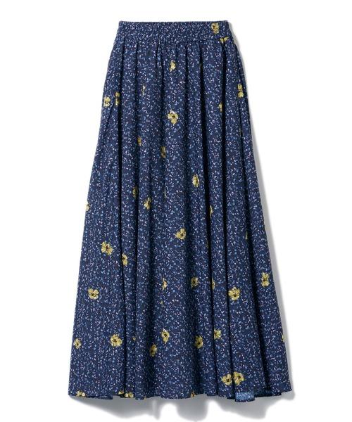 【安田美沙子×DRWCYS】ヴィンテージフラワースカート