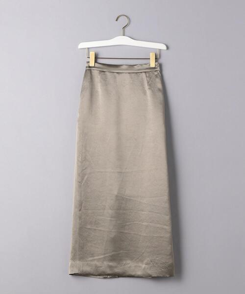 UWSC サテン イージータイトスカート