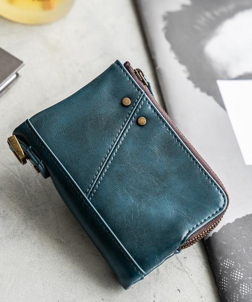 ■新色ブラック追加■【Control/コントロール】crass 折財布 二つ折り ミニ財布 ミニウォレット