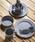 JACK & MARIE(ジャックアンドマリー)の「EcoSouLife Bamboo キャンパーセット 食器1セット(食器)」|チャコールグレー