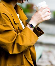 wicca ウィッカ ソーラーテック電波時計 HAPPY DIARY シンプルアジャスト対応(腕時計)
