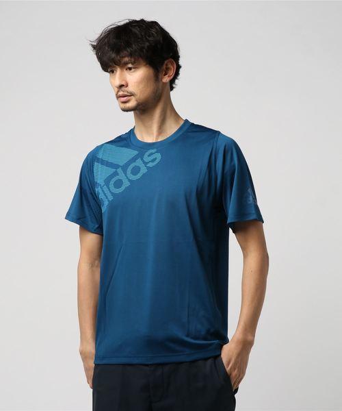 アディダス M4T フリーリフトビッグロゴTシャツ
