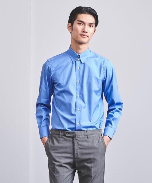 UADT ブロード タブカラーシャツ