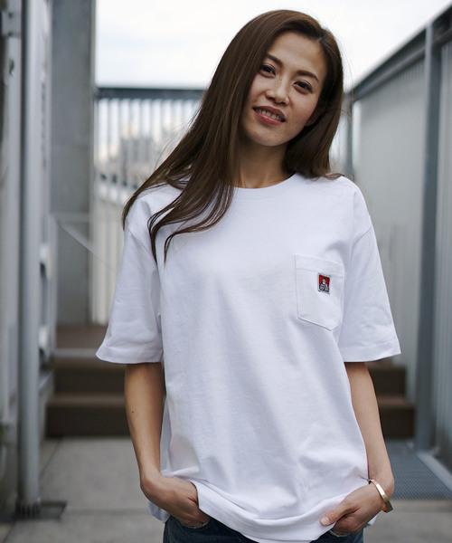 【BEN DAVIS/ベンデイビス 】ポケットTシャツ/ワンポイント/ユニセックス